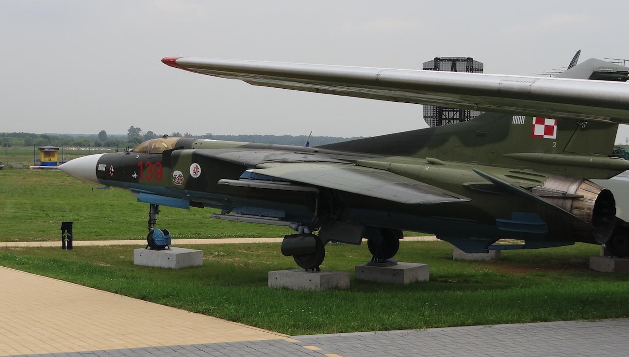 MiG-23 MF nb 139. 2017 year. Photo by Karol Placha Hetman