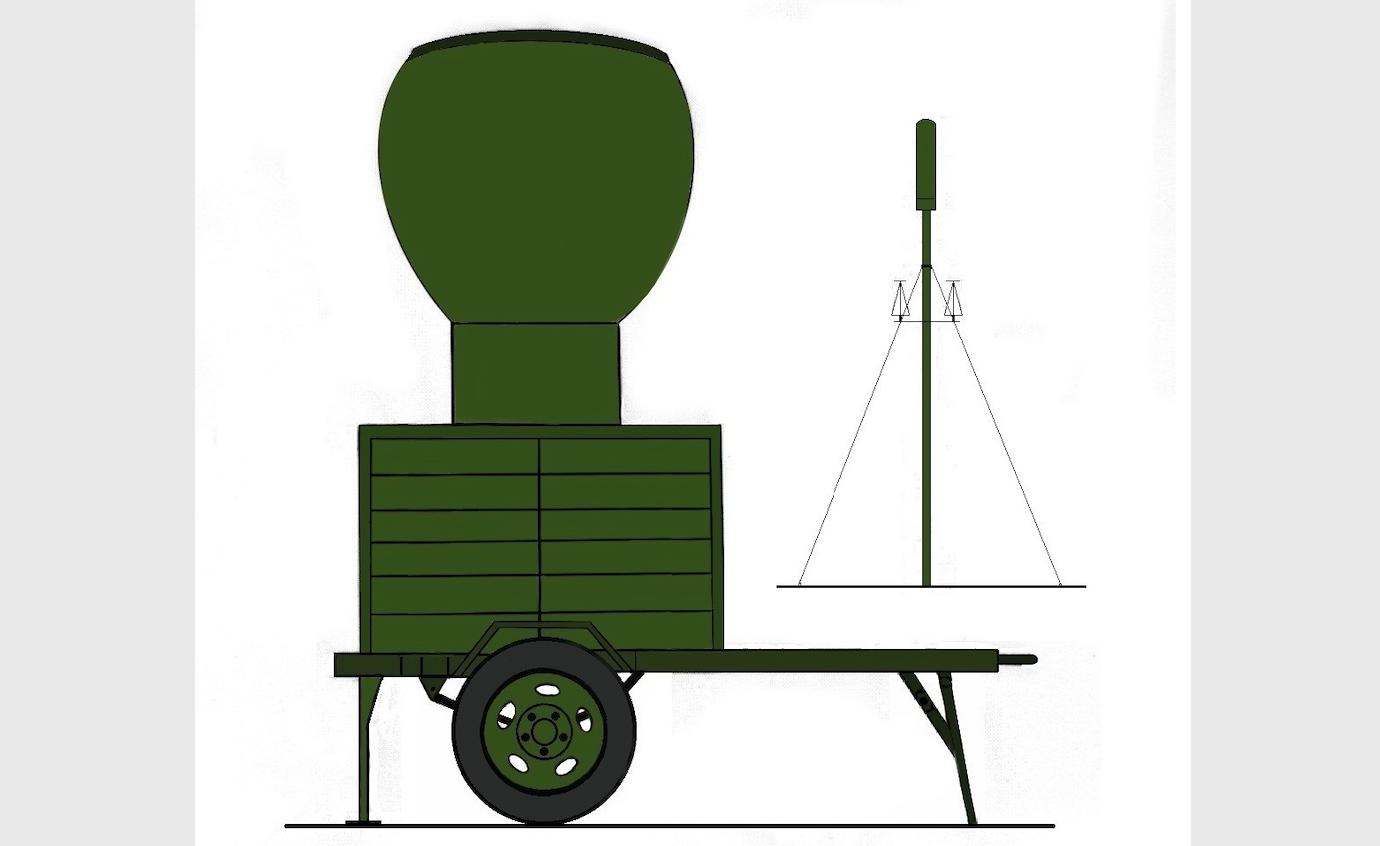 System antenowy radionamiernika ARP-10