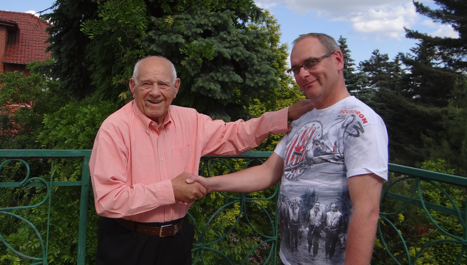 Pan Teofil Lenartowicz i Karol Placha 2018 rok