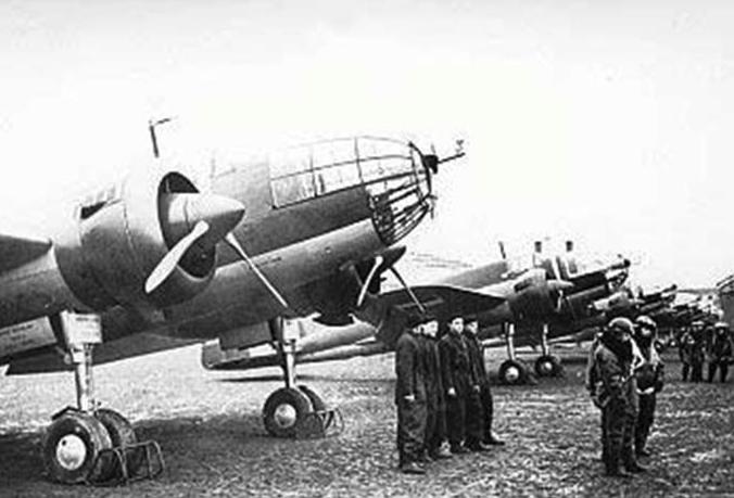 217 Squadron. Okęcie Airport on 19.03.1939. Photo of LAC