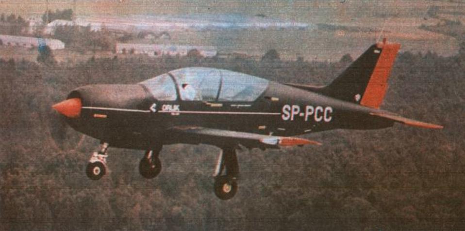 PZL-130 No. 004 registration of SP-PCC. 1985. Photo of LAC