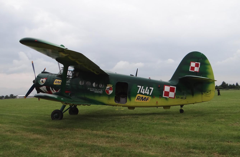 "PZL An-2 nb 7447 ""Wiedeńczyk"". 2021 rok. Zdjęcie Karol Placha Hetman"