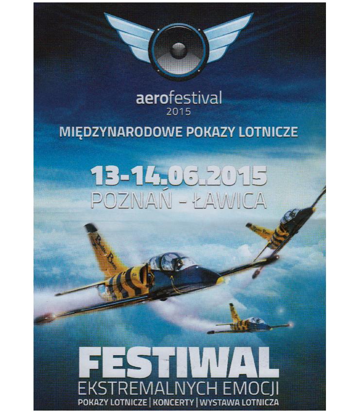 Aerofestival 2015 advertising poster