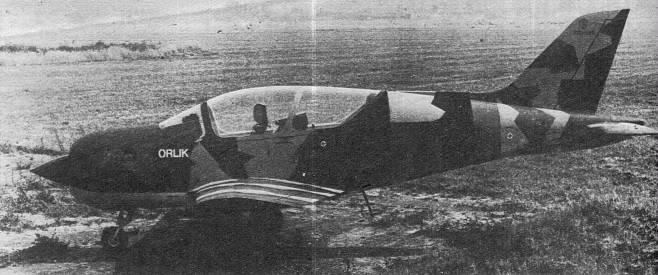 Makieta samolotu Orlik. 1983 rok. Zdjęcie LAC