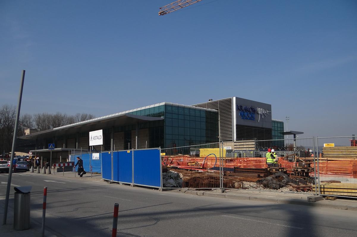 Rozbudowa terminalu. 2014 rok. Zdjęcie Karol Placha Hetman