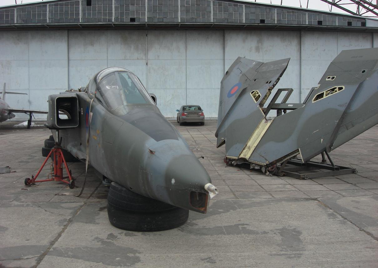 Jaguar GR.Mk.1 nb XX730. Rok 2010. Zdjęcie Karol Placha Hetman