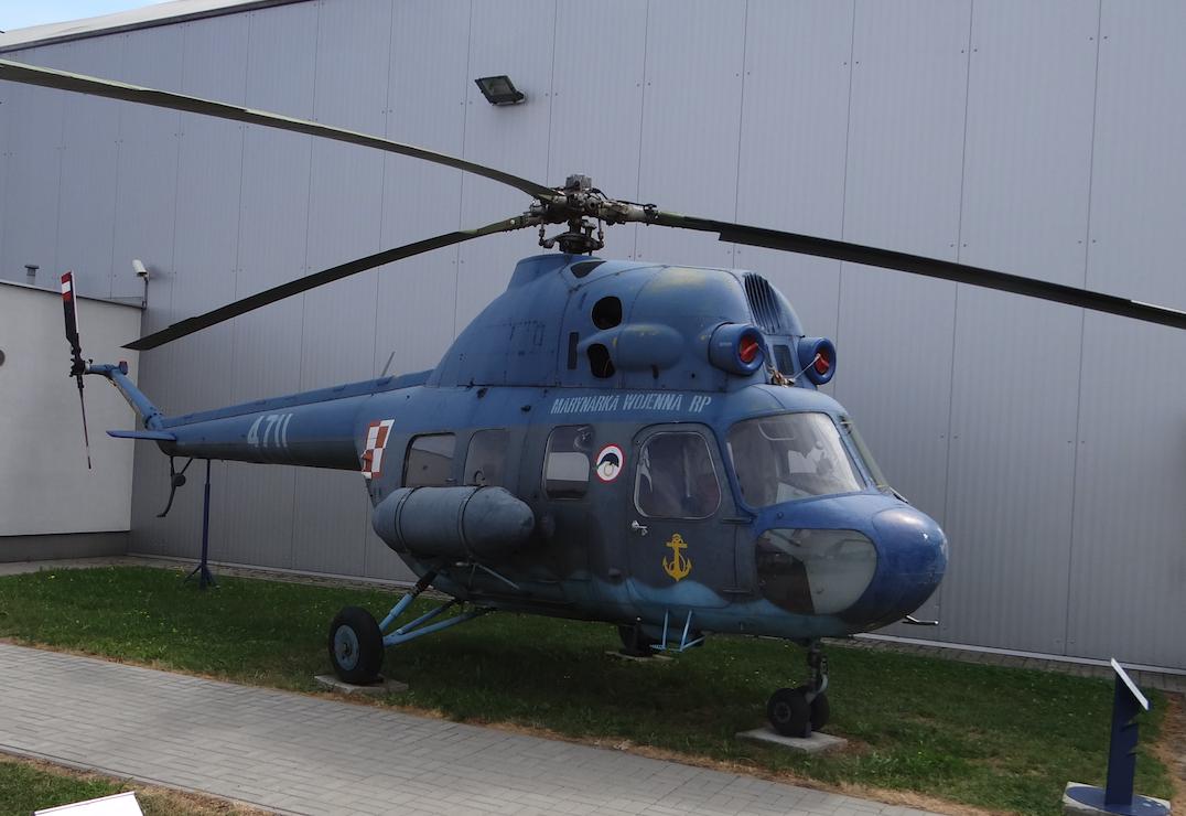 Mi-2 nb 4711 Marynarki Wojennej. 2017 rok. Zdjęcie Karol Placha Hetman