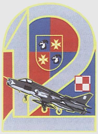 Odznaka pamiątkowa 12 Bazy Lotniczej. 2008r.