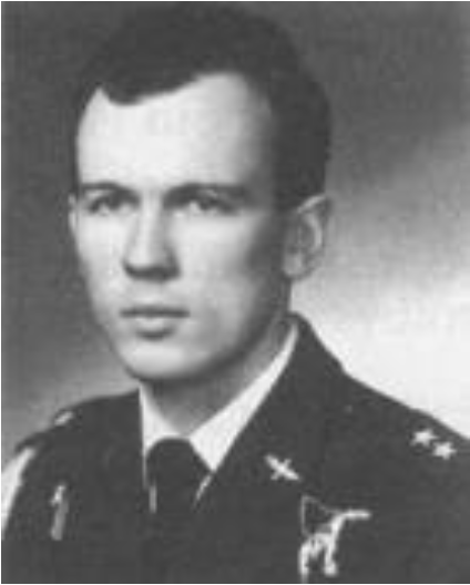 Lieutenant pilot Bogusław Siwiec