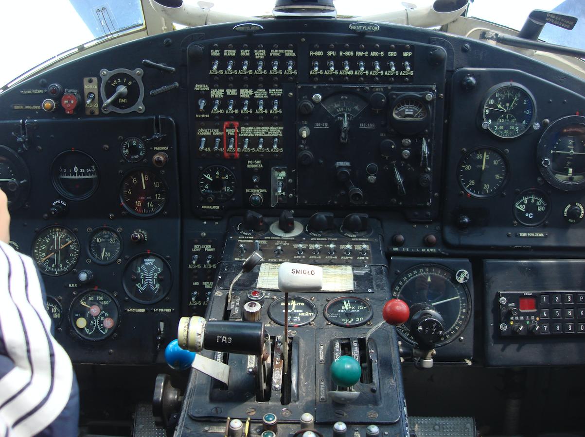 PZL An-2. Kokpit. 2009 year. Photo by Karol Placha Hetman