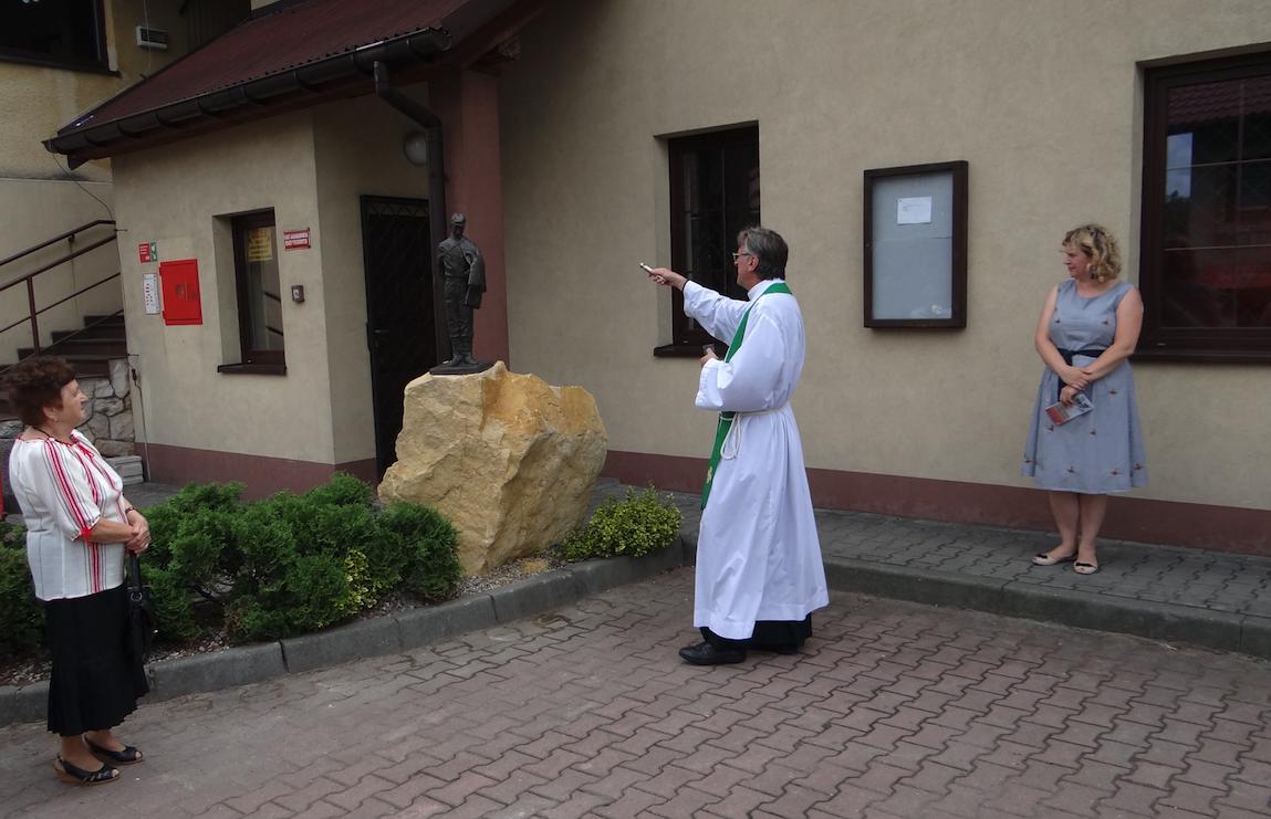 """Uroczystości przy """"Sokolniku"""". Poświęcenie. Płoki 2019 rok. Zdjęcie Karol Placha Hetman"""