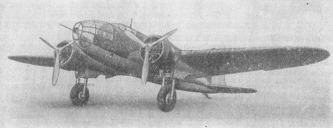 PZL-37 / I prototype. Photo of LAC