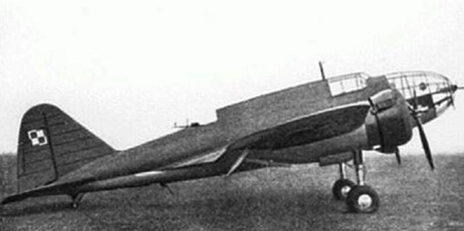 PZL-37 A Łoś. Photo of LAC