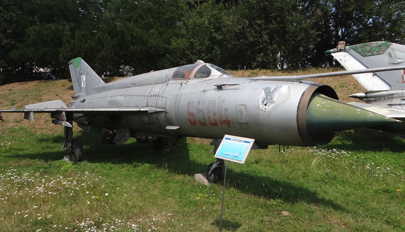 MiG-21 MF nb 6504. 2019 rok. Zdjęcie Karol Placha Hetman