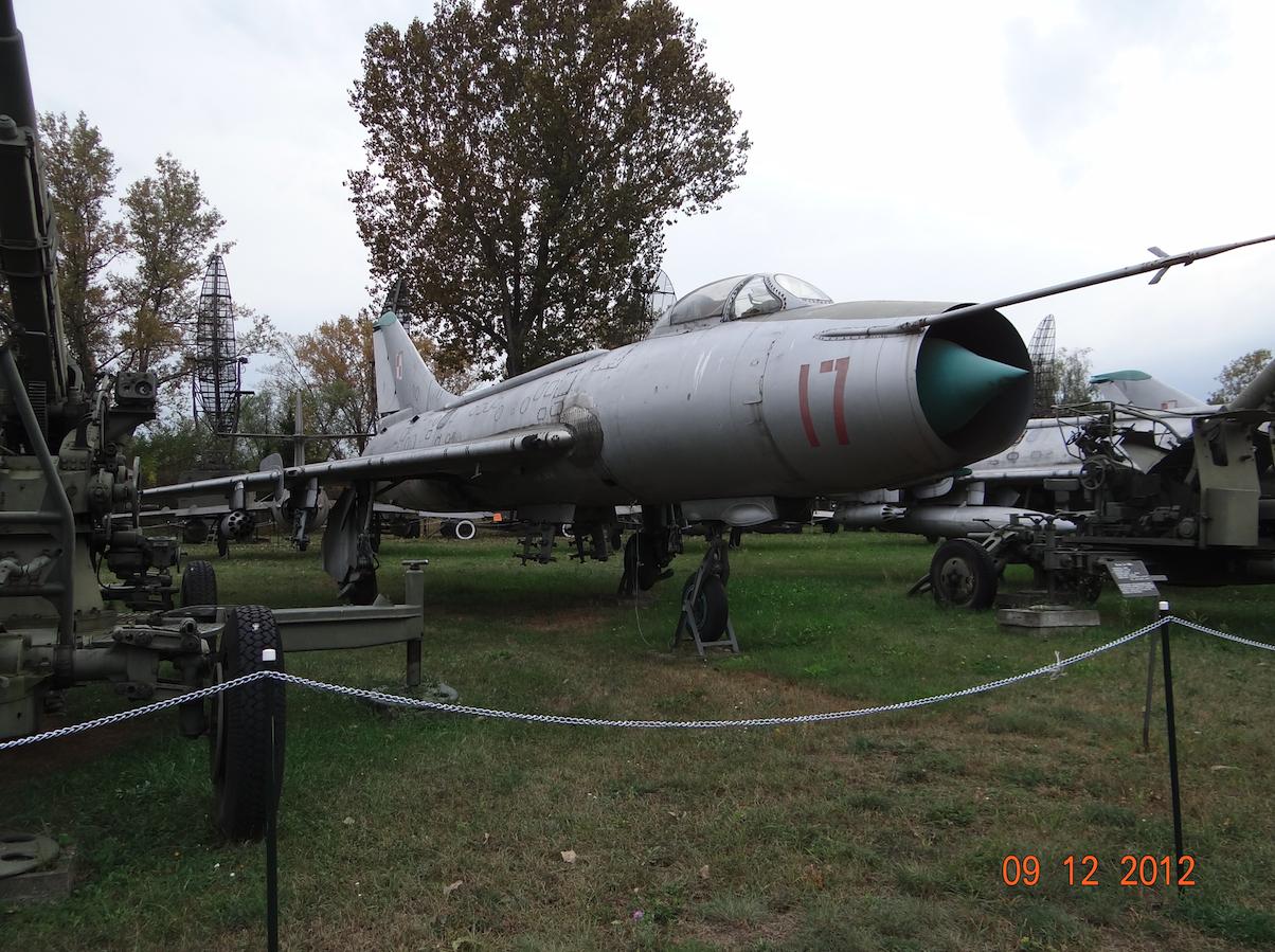 Su-7 BKŁ nb 17 nr 6017. 2012 rok. Zdjęcie Karol Placha Hetman