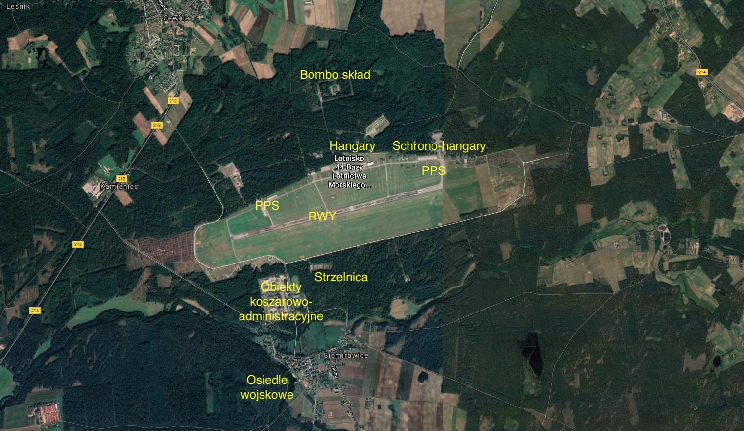 Lotnisko Siemirowice. 2021 rok. Praca Karol Placha Hetman