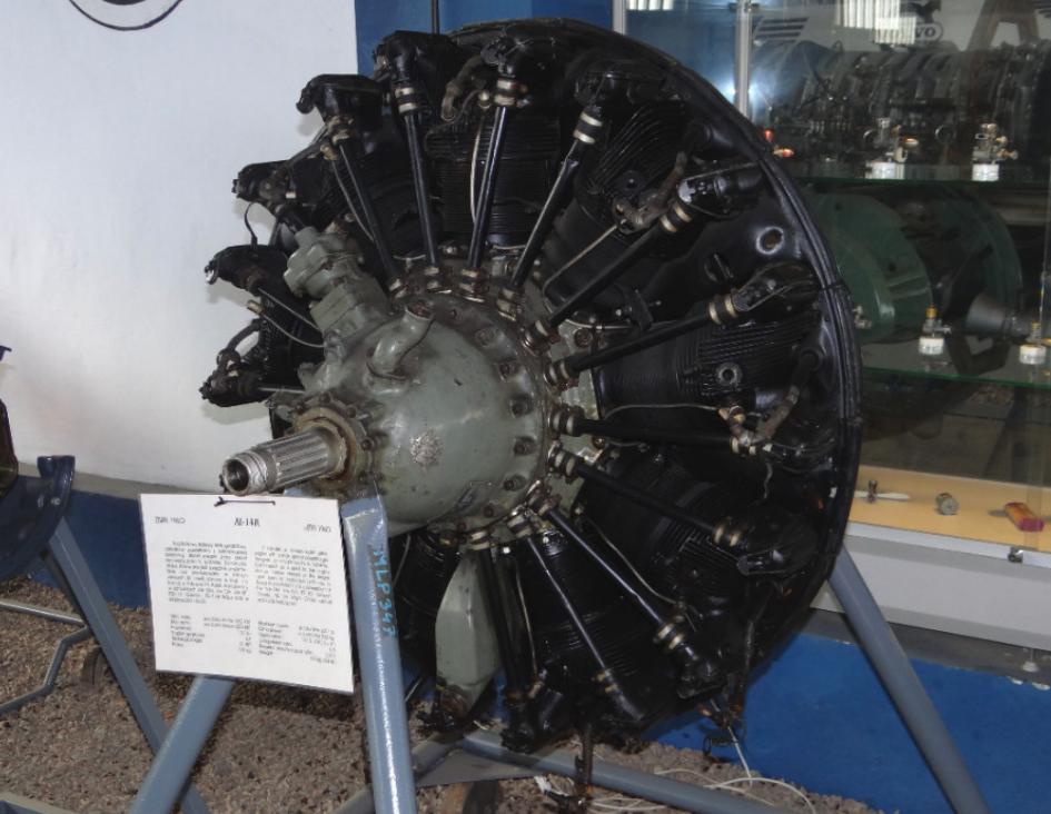 AI-14 R używany w samolotach PZL-104 Wilga. 2011 rok. Zdjęcie Karol Placha Hetman