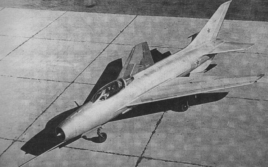 Mikojan i Guriewicz E-2. Zdjęcie LAC