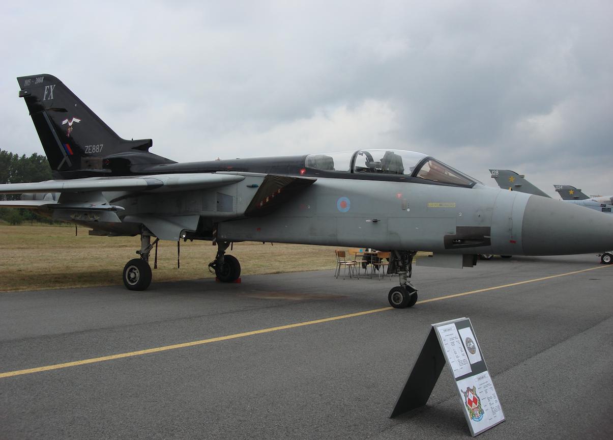 Tornado ADV F.3 No.ZE887. Great Britain. 2007. Photo by Karol Placha Hetman