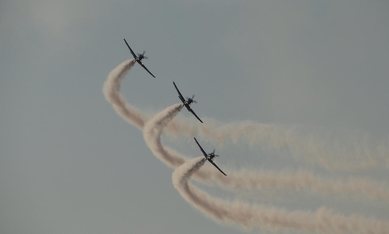 ORLIK Aerobatic Team. 2021. Photo by Karol Placha Hetman