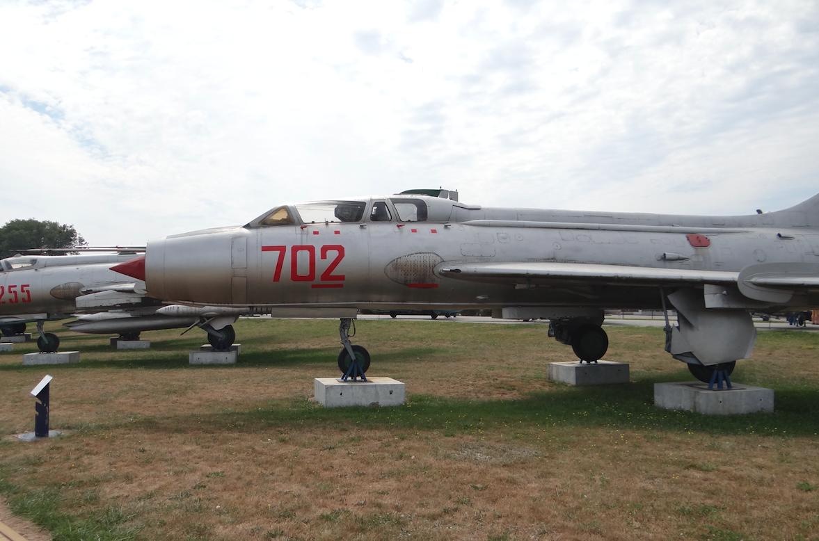 Su-7 U nb 702 nr 3702. 2017 rok. Zdjęcie Karol Placha Hetman