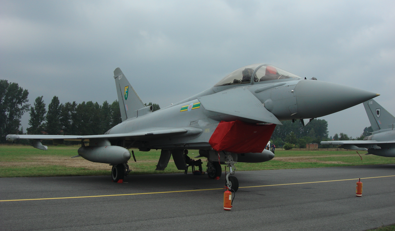 Eurofighter Typhoon nb QO-Y. Great Britain. 2009 year. Photo by Karol Placha Hetman