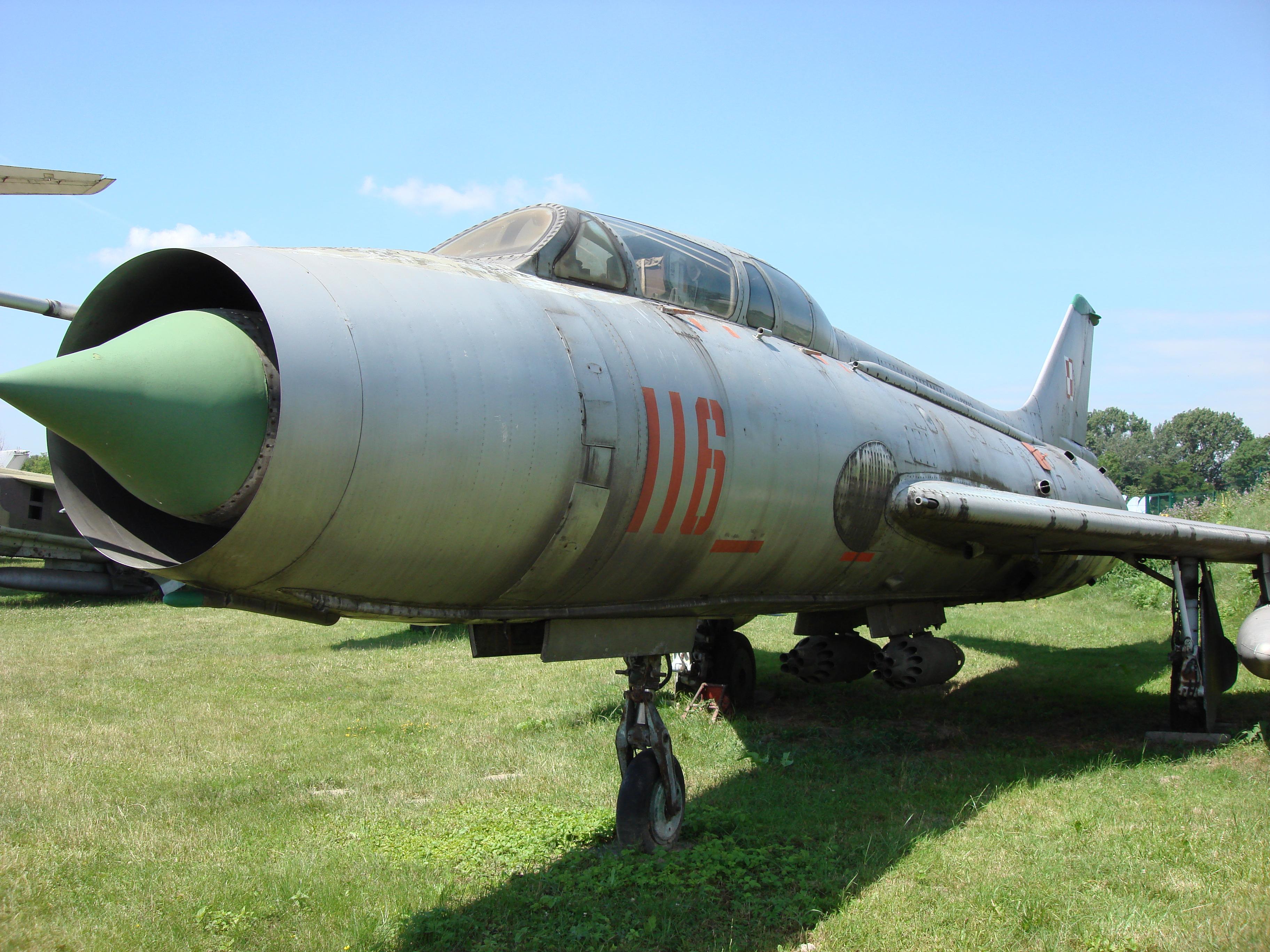 Su-7 U nb 116 nr 2116. 2007 rok. Zdjęcie Karol Placha Hetman