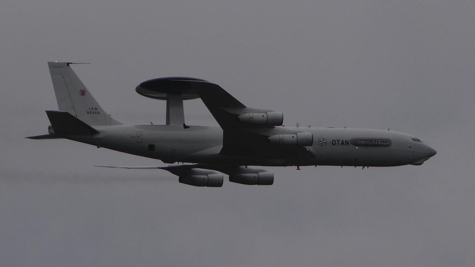 Boeing E-3 Sentry AWACS. 2018 rok. Zdjęcie Karol Placha Hetman