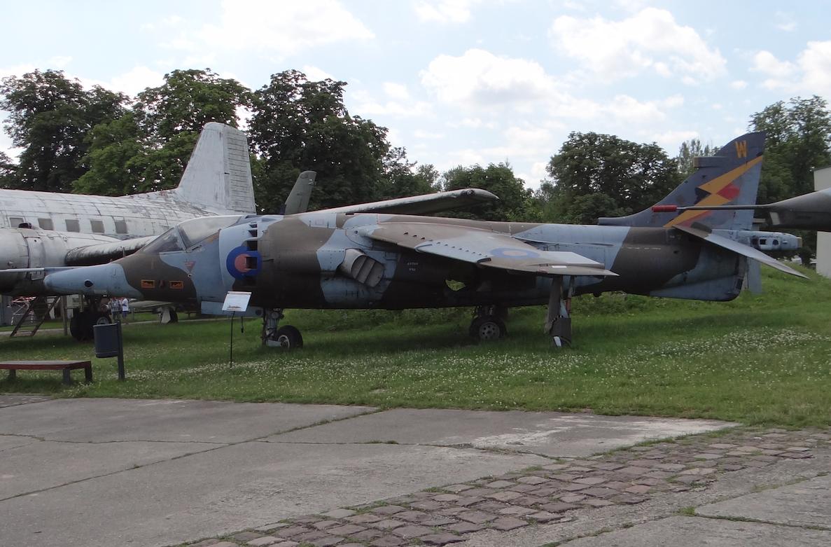 Harrier GR Mk.3 nb XW919. 2017 rok. Zdjęcie Karol Placha Hetman