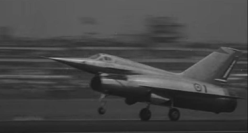 Griffon II. 1959 year. Photo of LAC