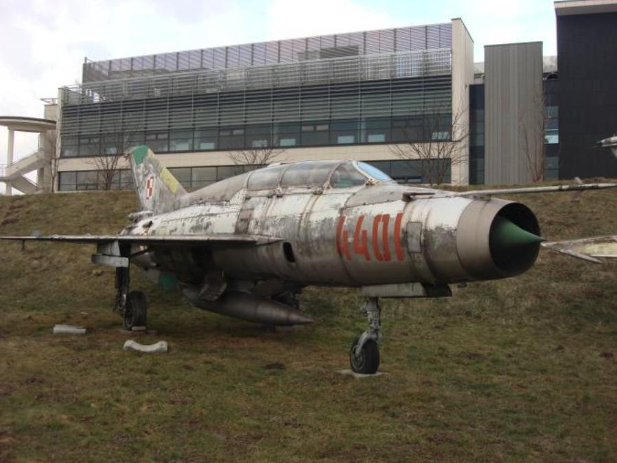 MiG-21 US nb 4401. Czyżyny 2009 rok. Zdjęcie Karol Placha Hetman