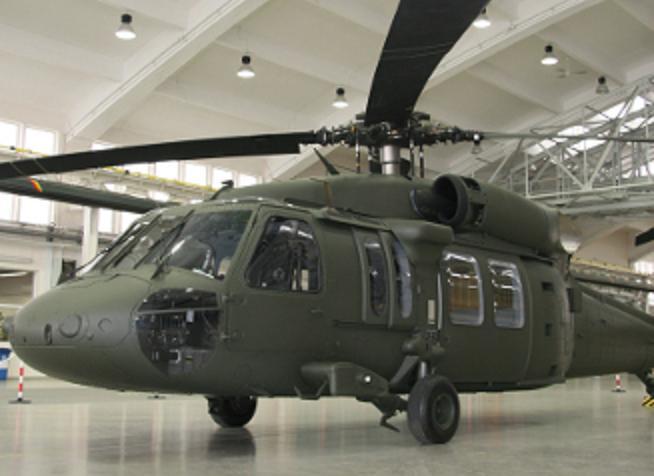 Pierwszy zbudowany w Mielcu Black Hawk. 2010r.
