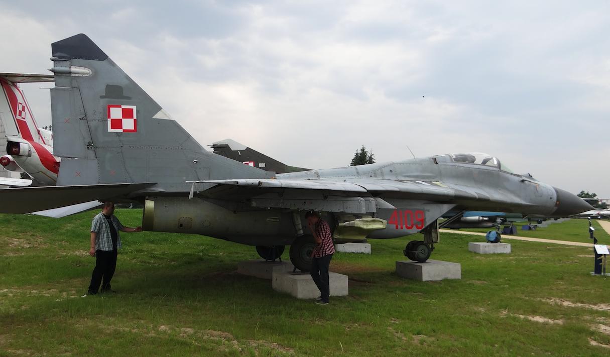 MiG-29 nb 4109. 2012. Photo by Karol Placha Hetman