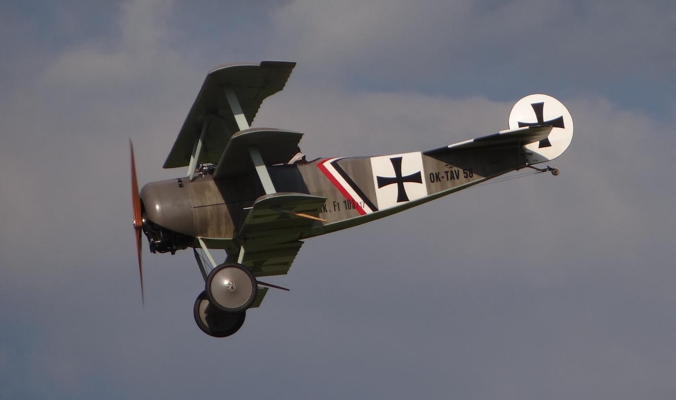 Fokker Dr.1 Pterodactyl Flight. year. Photo by Karol Placha Hetman
