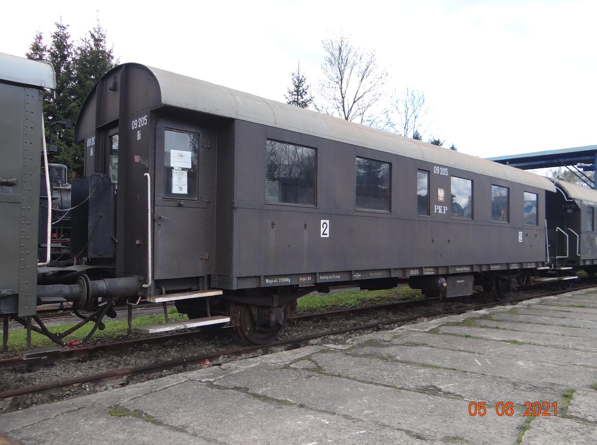 Wagon Bi 09205, klasa 2. Chabówka 2021 rok. Zdjęcie Karol Placha Hetman