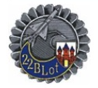 The emblem the 22nd Air Base in Malbork