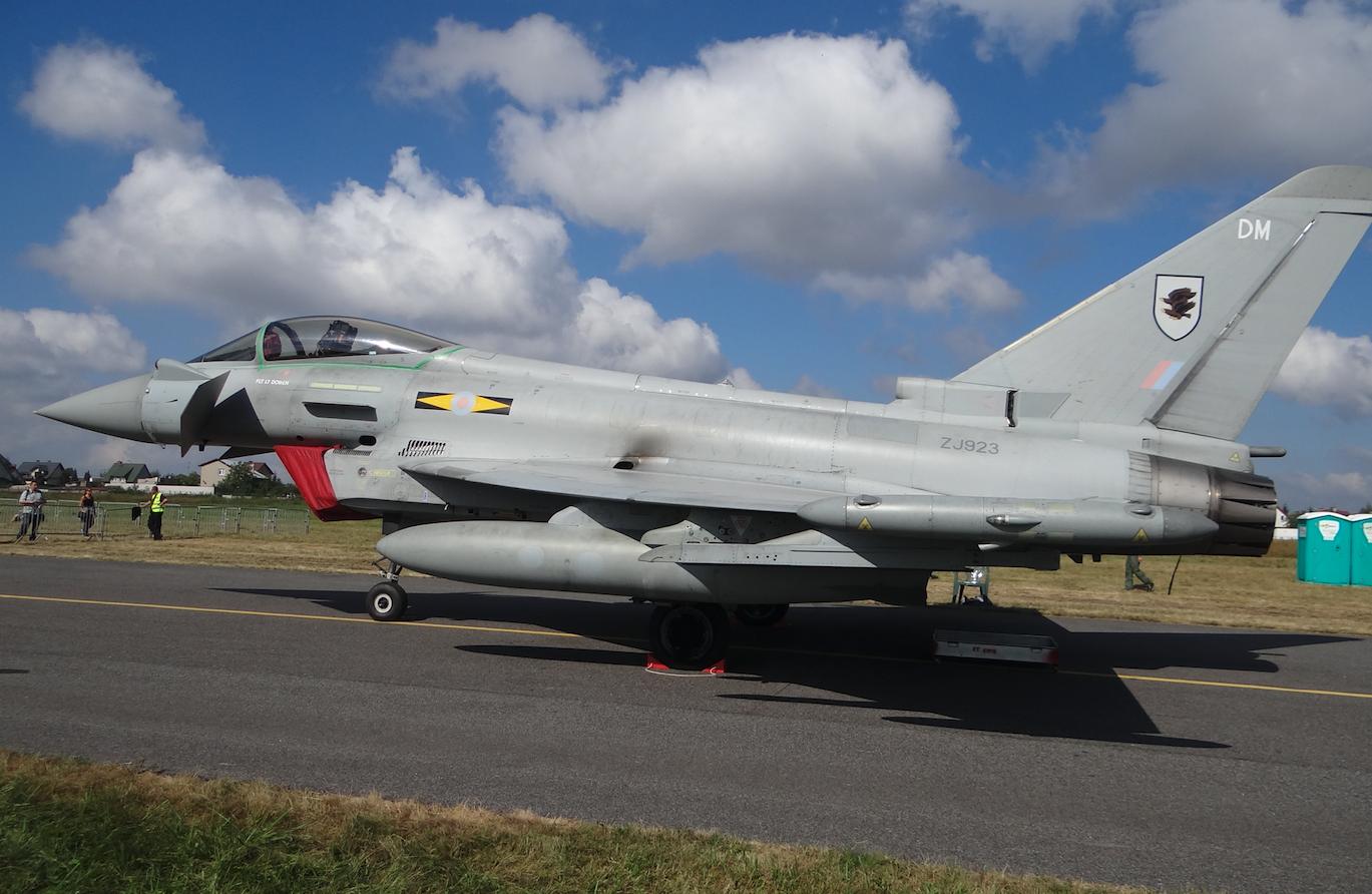 Eurofighter Typhoon nb ZJ923-DM. Great Britain. 2011 year. Photo by Karol Placha Hetman