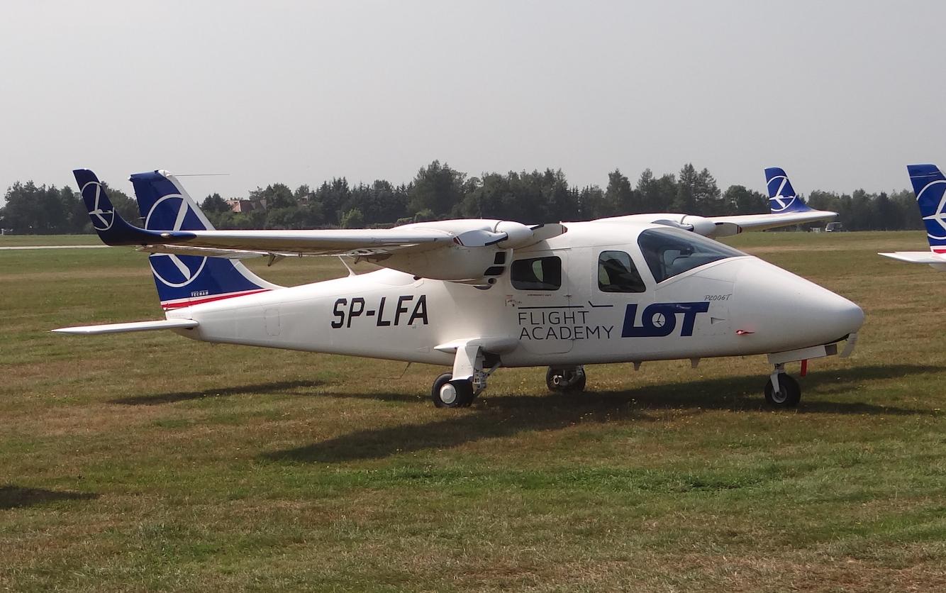 Tecnam P2006T SP-LFA. Jasionka. 2019. Photo by Karol Placha Hetman