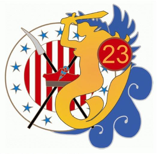 The emblem the 23 Air Base in Mińsk Mazowiecki