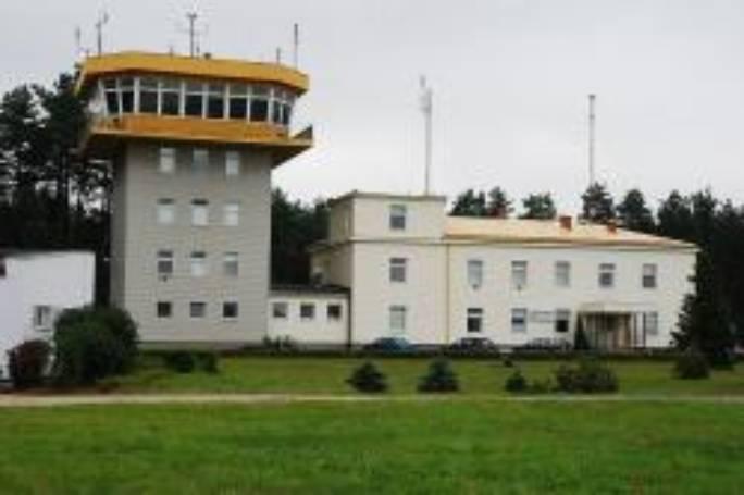 Wieża kontroli lotów i wojskowy port lotniczy. 2008r.