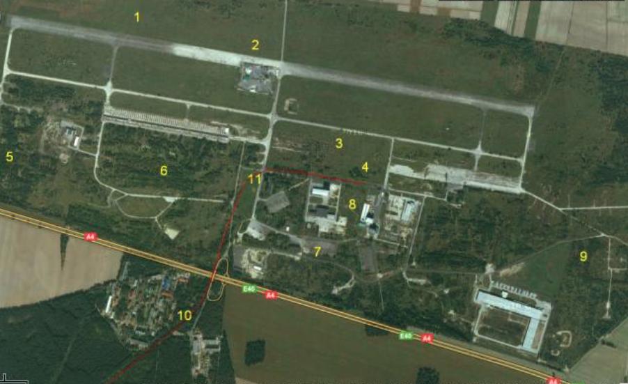 Lotnisko Krzywa. 2010 rok. Zdjęcie LAC