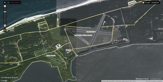 Lotnisko Wicko Morskie 2013r. Zdjęcie Wikimapia