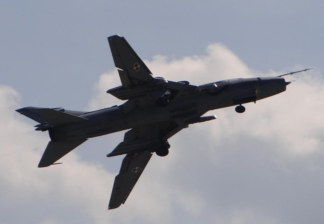 Su-22 UM 3 K nb 509. 2017 rok. Zdjęcie Karol Placha Hetman