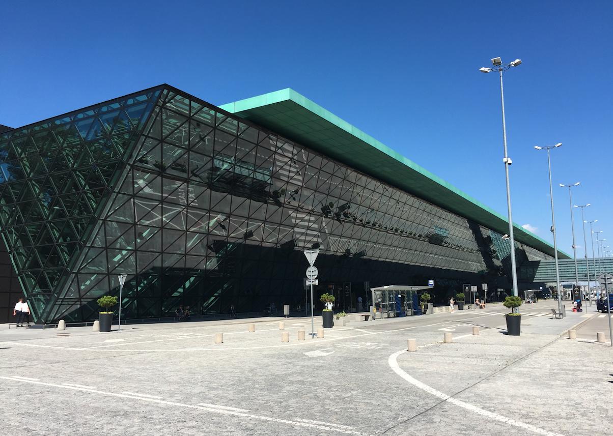 Airport Krakow - Balice. 2020 year. Photo by Karol Placha Hetman