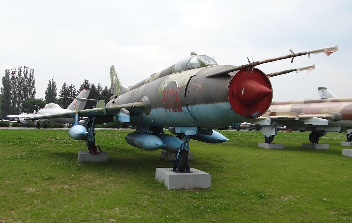Suchoj Su-20 nb 7125 in Dęblin. 2012. Photo by Karol Placha Hetman
