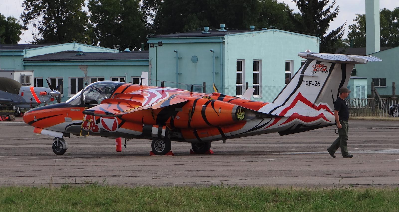 SAAB 105 OE nb RF-26. 2013 year. Photo by Karol Placha Hetman