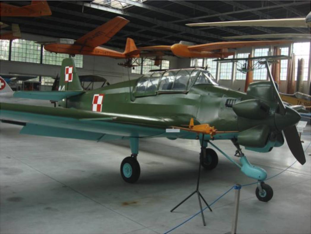PZL Junak-3 Muzeum Lotnictwa Polskiego. 2011 rok, Zdjęcie Karol Placha Hetman