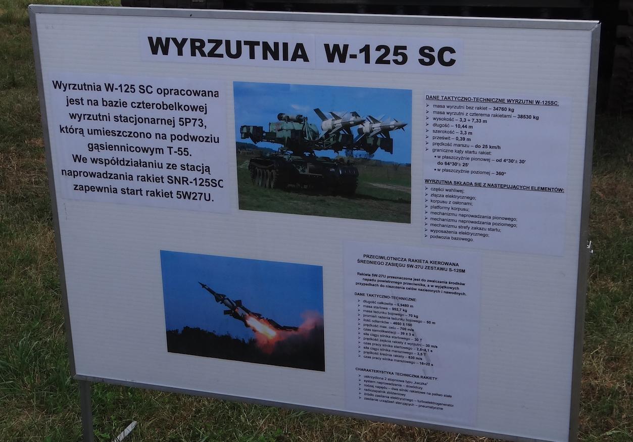 Wyrzutnia W-125 SC. 2013 rok. Zdjęcie Karol Placha Hetman