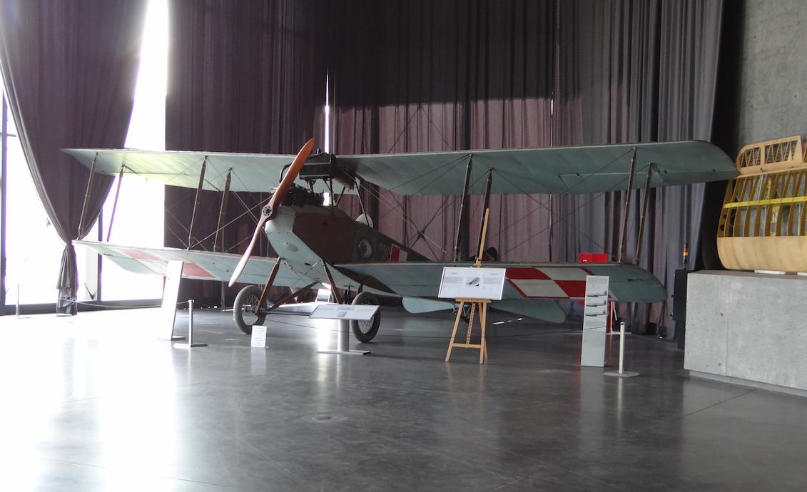 Albatros B.II w Muzeum Lotnictwa Polskiego - Czyżyny 2017 rok. Zdjęcie Karol Placha Hetman