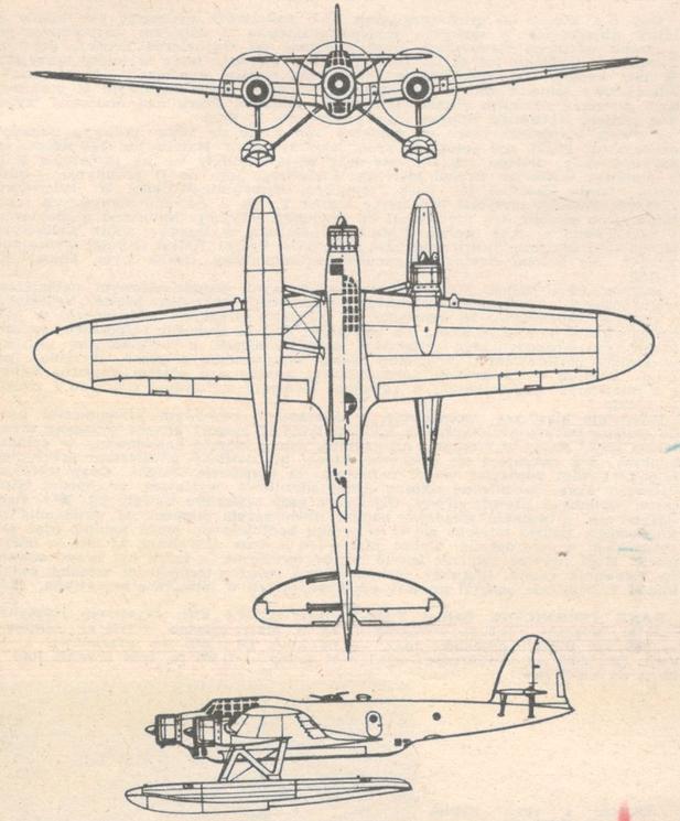 CANT Z-506. Zdjęcie LAC